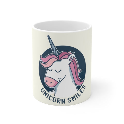 Unicorn Coffee Mug | Unicorn Coffee Mug - Unicorn Smiles | sumoearth 🌎