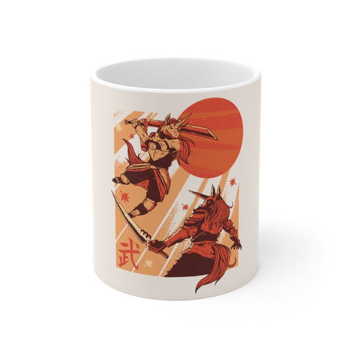 Unicorn Coffee Mug | Unicorn Coffee Mug - Warrior | sumoearth 🌎