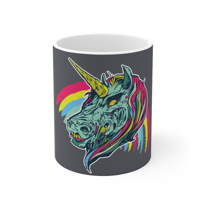 Unicorn Coffee Mug | Unicorn Coffee Mug - Zombie Unicorn | sumoearth 🌎