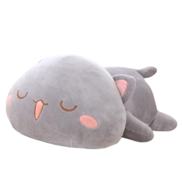 Cat Plush | owo or uwu Kitty Cat Plush Toy - Cat Plush Pillow | sumoearth 🌎