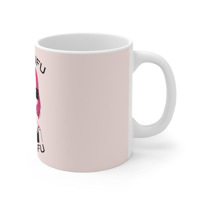 Anime Coffee Mug | Anime Coffee Mug - No Waifu, No Laifu | sumoearth 🌎