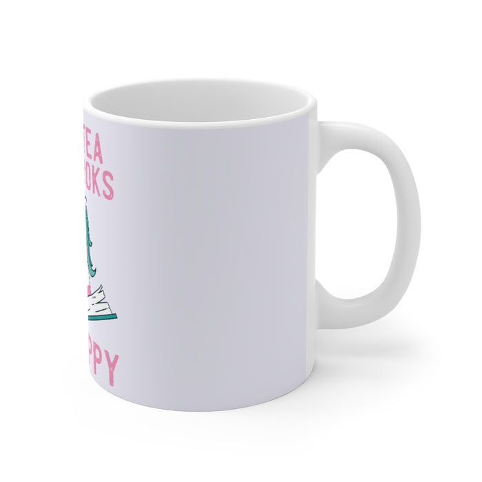 Unicorn Coffee Mug | Unicorn Coffee Mug - Drink Tea, Read Books, Be Happy | sumoearth 🌎