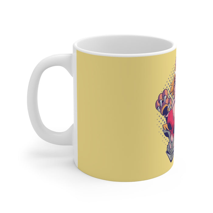 Anime Coffee Mug | Anime Coffee Mug - Paw Girl | sumoearth 🌎