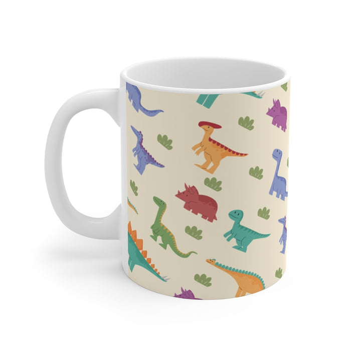 Dinosaur Coffee Mugs | Happy Dinosaurs Coffee Mug | sumoearth 🌎