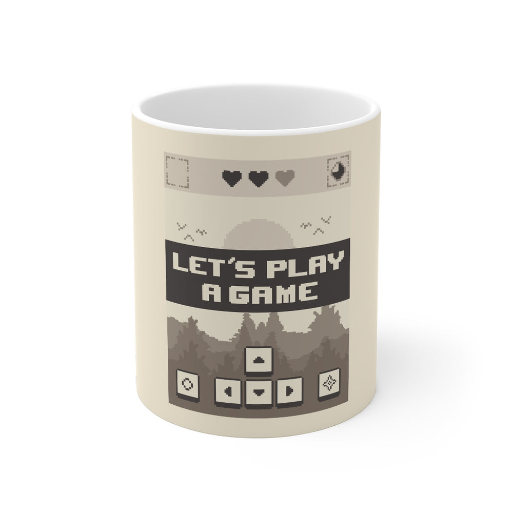 Gamer Coffee Mug | Let's Play A Game | Gamer Coffee Mug | sumoearth 🌎