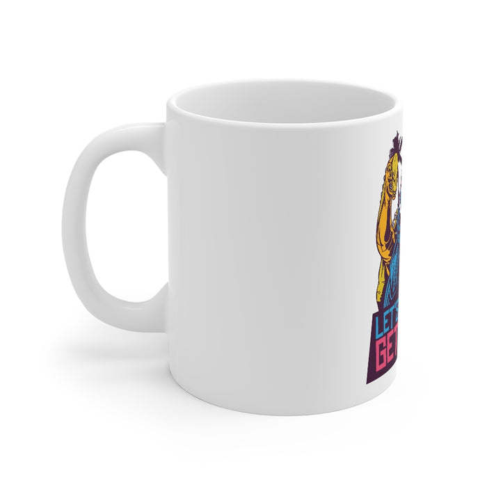 Dinosaur Coffee Mugs | Let's Get Wild Coffee Mug | Dinosaur Coffee Mug | sumoearth 🌎