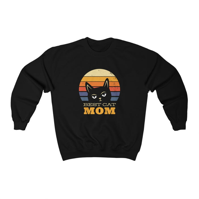 Best Cat Mom Unisex Sweatshirt