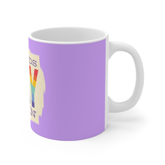 Rainbow Coffee Mug | Rainbow Coffee Mug - Sounds Gay I'm In | sumoearth 🌎
