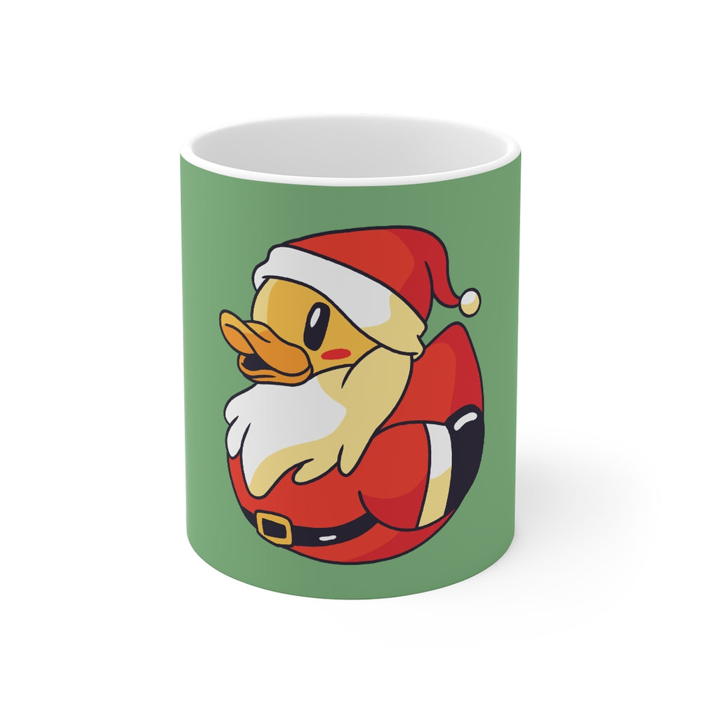 Duck Coffee Mug | Santa Duck Coffee Mug | sumoearth 🌎