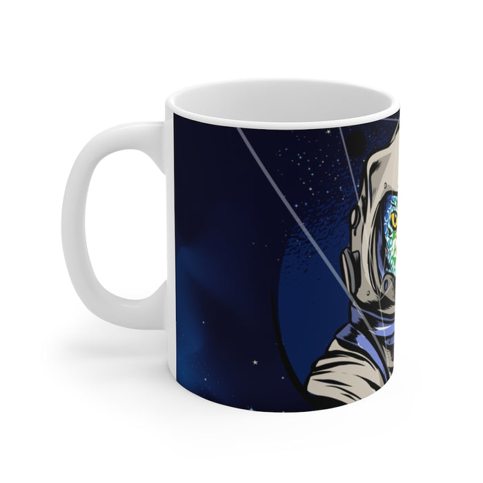 Cat Coffee Mug | Trippy Cat Coffee Mug | sumoearth 🌎