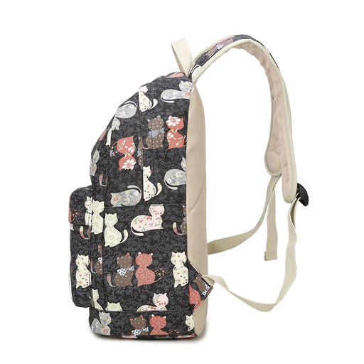Cute Cat Backpack for School