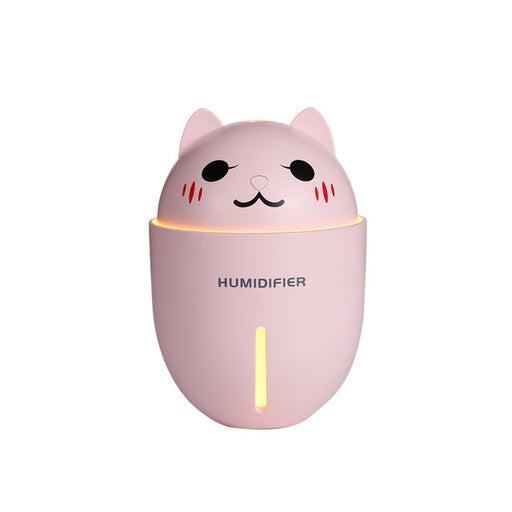 Cat Humidifier | Cute Cat Air Humidifier (Desk) (Bedroom) (3-in-1) | sumoearth 🌎