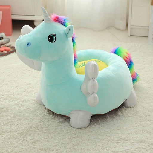Unicorn Plush | Toddler Soft Unicorn Plush Chair | sumoearth 🌎