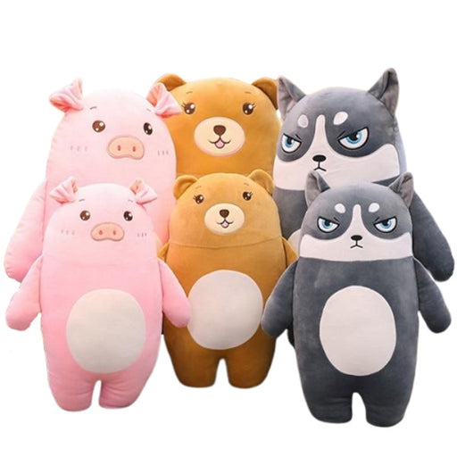 sumoearth teddybear bear, husky, pig | sumoearth Stuffed Animal Teddy Bear Soft Plush Toy | SumoEarth