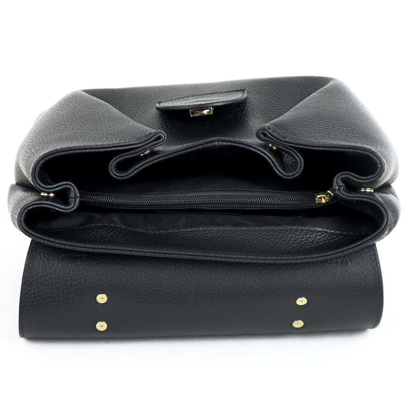 Woman's leather bag 100% genuine Italian leather.