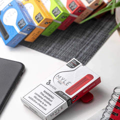 Mini Red Apple MYLÉ Disposable Vape Pods in UAE. Dubai, Abu Dhabi, Sharjah, Ajman - MYLÉ Vape Dubai