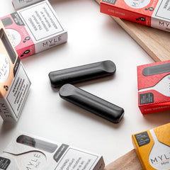 Mini Pink Lemonade MYLÉ Disposable Vape Pods in UAE. Dubai, Abu Dhabi, Sharjah, Ajman - MYLÉ Vape Dubai