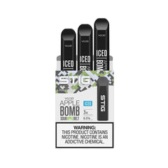 Stig Pods - VGOD Apple Bomb Iced -  Disposable Vape Devices in Dubai UAE