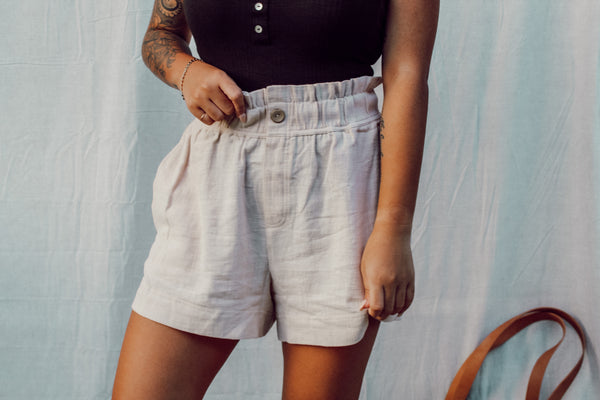 Chai Latte Shorts - Andrea Louis