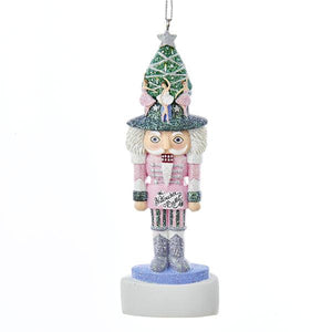 Kurt Adler Hollywood Ballet Nutcracker Ornament For Personalization, A1614