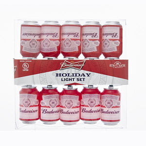 Kurt Adler Budweiser Can Light Set, AB9131