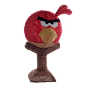 Kurt Adler 28-Inch Angry Birds Lighted Tinsel Lawn Decor, BD9121