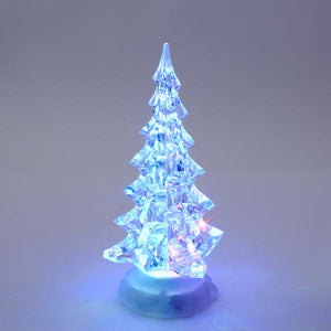 Kurt Adler Battery-Operated Acrylic LED Lighted Christmas Tree, C1516