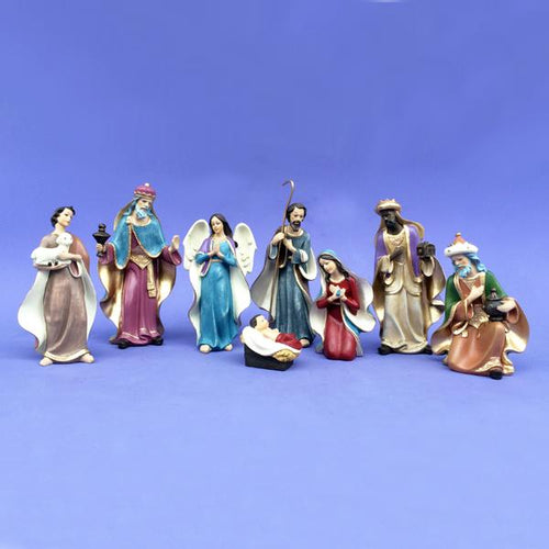 Kurt Adler Nativity Set With 8 Figures, C5709