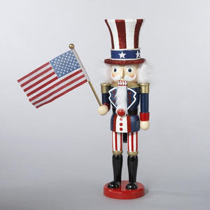 Kurt Adler 15-Inch Hollywood Uncle Sam Nutcracker, C6059