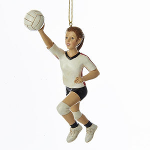 "Kurt Adler 6"" Resin Volleyball Girl Ornament        , C7941"