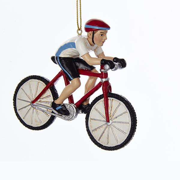 Kurt Adler Cyclist Ornament, C7945