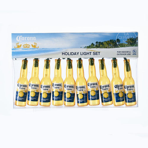 Kurt Adler Corona Extra Beer Bottle Light Set, CE9161