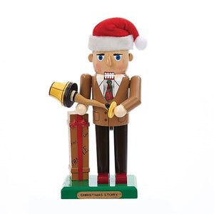 Kurt Adler 11-Inch A Christmas Story Mr. Parker With Leg Lamp Nutcracker, CS6161L