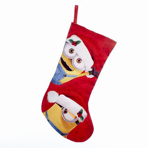 Kurt Adler Despicable Me Minion With Santa Hat Stocking, DE7171