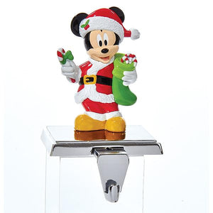 Kurt Adler Disney Mickey Mouse Stocking Hanger With Retractable Hook, DN5161