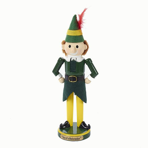 Kurt Adler 11-Inch Elf The Movie Nutcracker, EF6161L