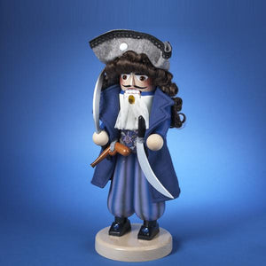 Kurt Adler 16-Inch Steinbach Pirate Captain Nutcracker, ES1954