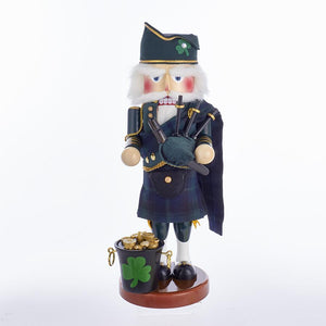 Kurt Adler 17-Inch Steinbach Musical Irish Nutcracker, ES1967