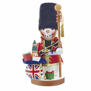 Kurt Adler 13.25-Inch Steinbach Great Britain Snowman Nutcracker, ES1999