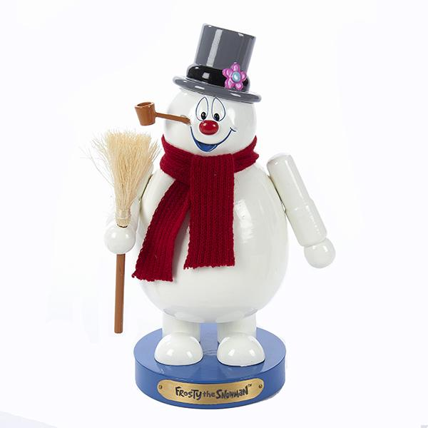 Kurt Adler 10-Inch Frosty The Snowman Nutcracker, FT6161L