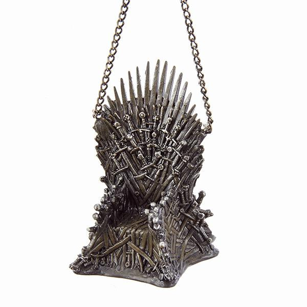 Kurt Adler Game of Thrones Iron Throne Ornament, GO2171