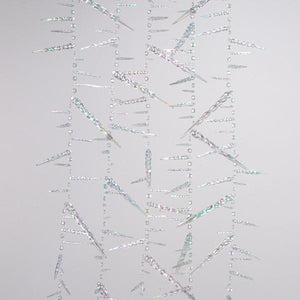 Kurt Adler Twisted Icicle Garland, H0360
