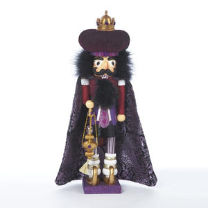 Kurt Adler 18-Inch Hollywood Purple King Nutcracker, HA0091