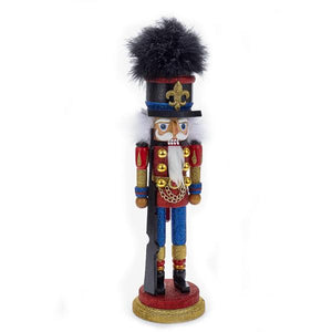 Kurt Adler 18-Inch Hollywood Red and Blue Soldier Nutcracker, HA0261