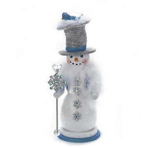 Kurt Adler 16-Inch Hollywood Snowman Nutcracker, HA0288