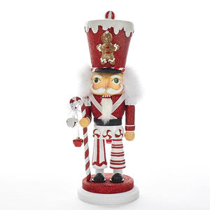 Kurt Adler 15-Inch Hollywood Gingerbread Solider Nutcracker, HA0324A