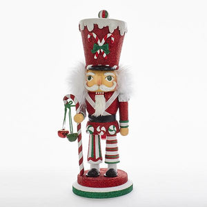 "Kurt Adler 16"" Hollywood Candy Soldier Nutcracker, HA0324"