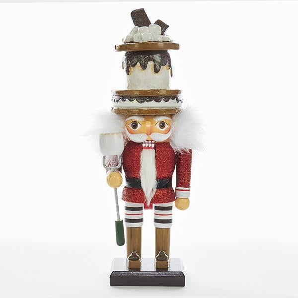 Kurt Adler 12-Inch Hollywood S'mores Hat Nutcracker, HA0341