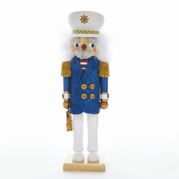 Kurt Adler 15-Inch Hollywood Sea Captain Nutcracker, HA0371