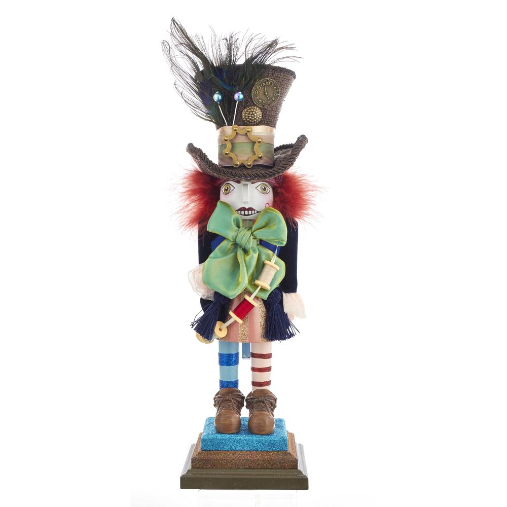 Kurt Adler 18-Inch Hollywood Hatter Nutcracker, HA0381